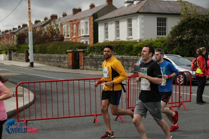 Running the Wings for Life in Dublin